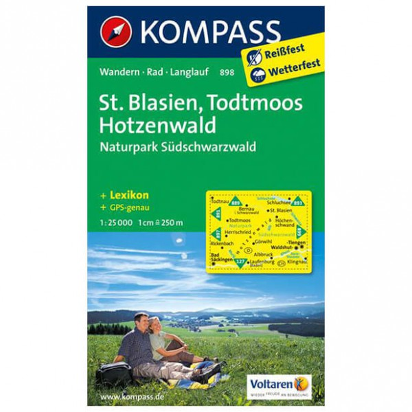 Kompass - St. Blasien - Hiking map