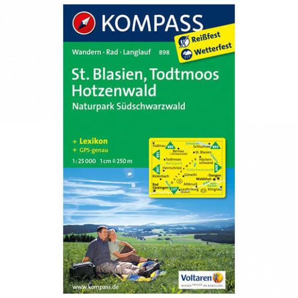 Kompass - St. Blasien - Vandrekort