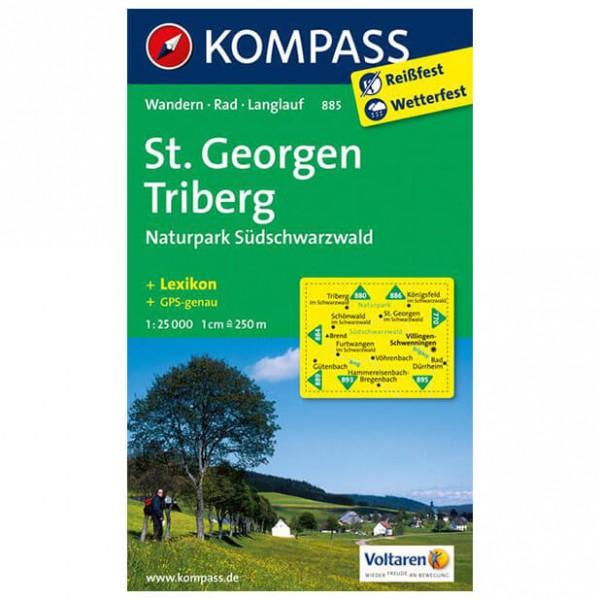 Kompass - St. Georgen - Wanderkarte