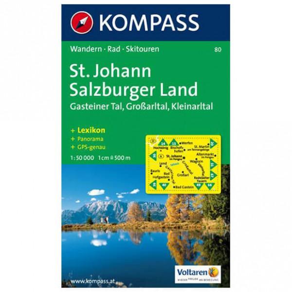 Kompass - St. Johann - Cartes de randonnée
