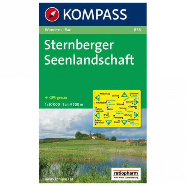 Kompass - Sternberger Seenlandschaft - Hiking Maps