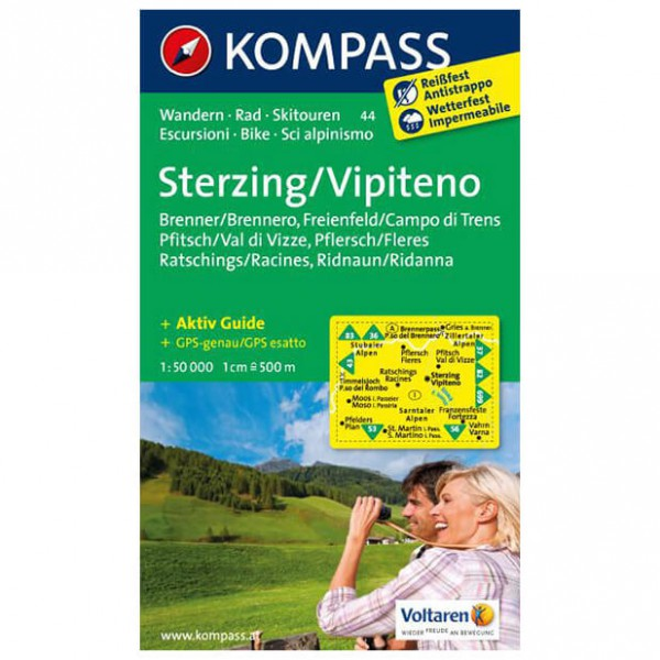 Kompass - Sterzing / Vipiteno - Hiking Maps