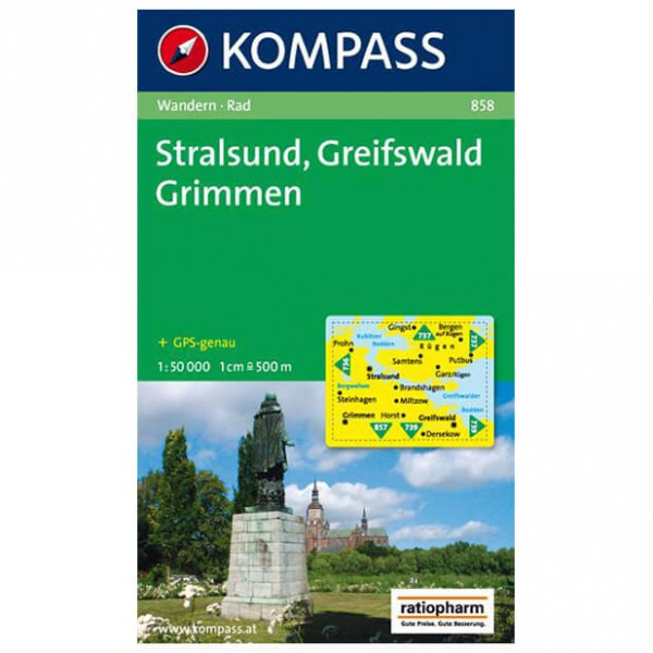 Kompass - Stralsund - Hiking Maps