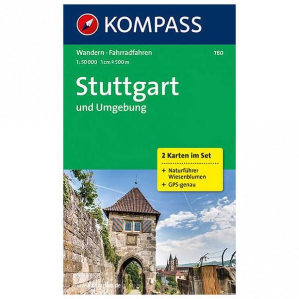 Kompass - Stuttgart und Umgebung - Wandelkaarten