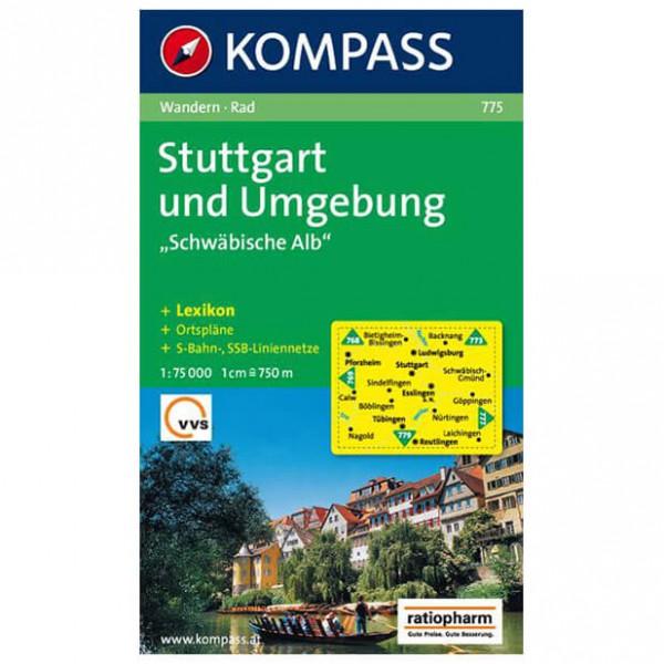 Kompass - Stuttgart und Umgebung ''''Schwäbische Alb'''' - Vaelluskartat