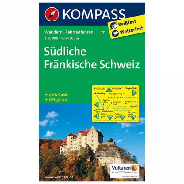 Kompass - Südliche Fränkische Schweiz - Wandelkaarten