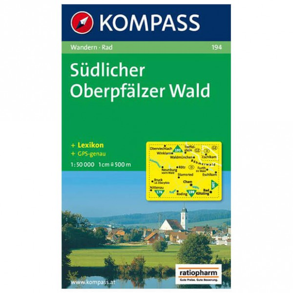 Kompass - Südlicher Oberpfälzer Wald - Wandelkaarten