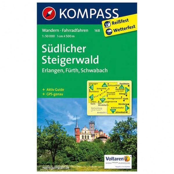Kompass - Südlicher Steigerwald - Wandelkaarten