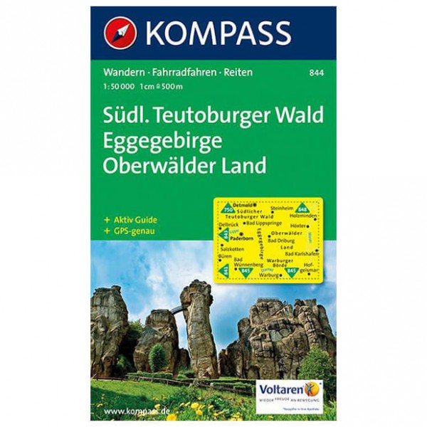Kompass - Südlicher Teutoburger Wald - Hiking map