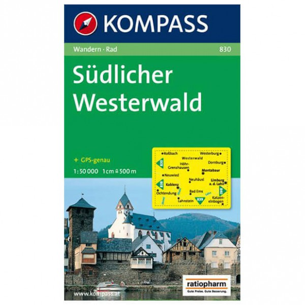Kompass - Südlicher Westerwald - Hiking Maps