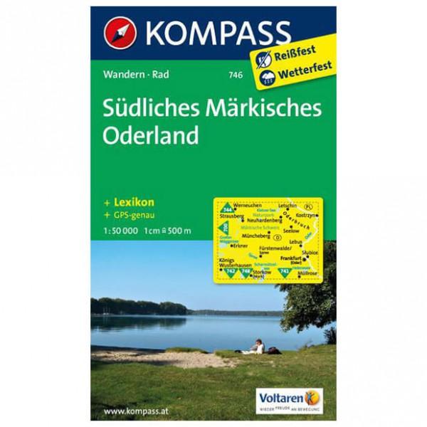 Kompass - Südliches Märkisches Oderland - Hiking Maps