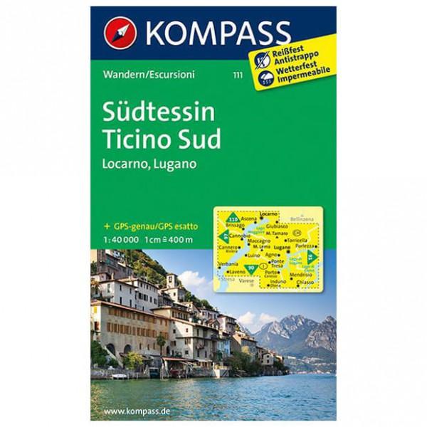 Kompass - Südtessin - Wandelkaarten
