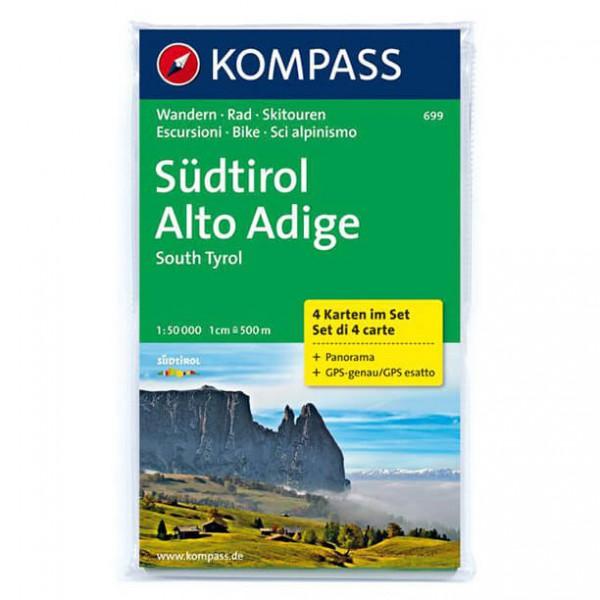 Kompass - Südtirol - Vaelluskartat