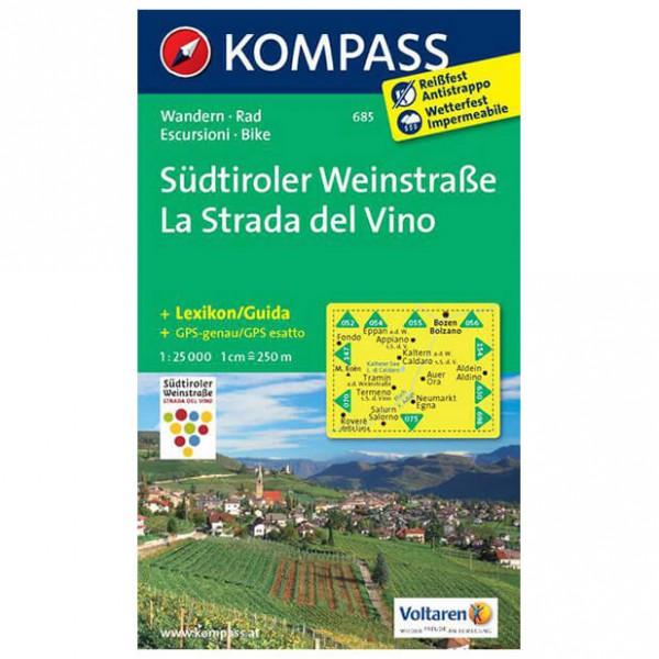 Kompass - Südtiroler Weinstraße - Turkart