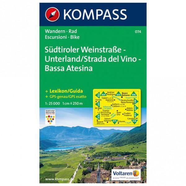 Kompass - Südtiroler Weinstraße - Unterland /Strada del Vino