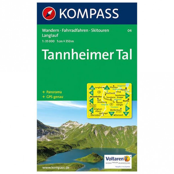 Kompass - Tannheimer Tal - Hiking Maps