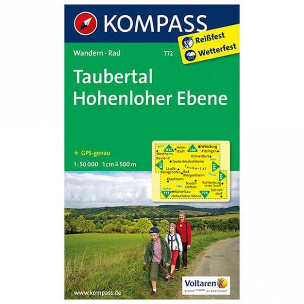 Kompass - Taubertal - Cartes de randonnée