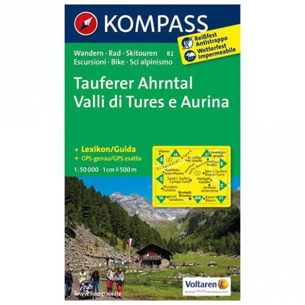 Kompass - Tauferer Ahrntal - Cartes de randonnée