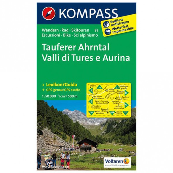 Kompass - Tauferer Ahrntal - Hiking Maps