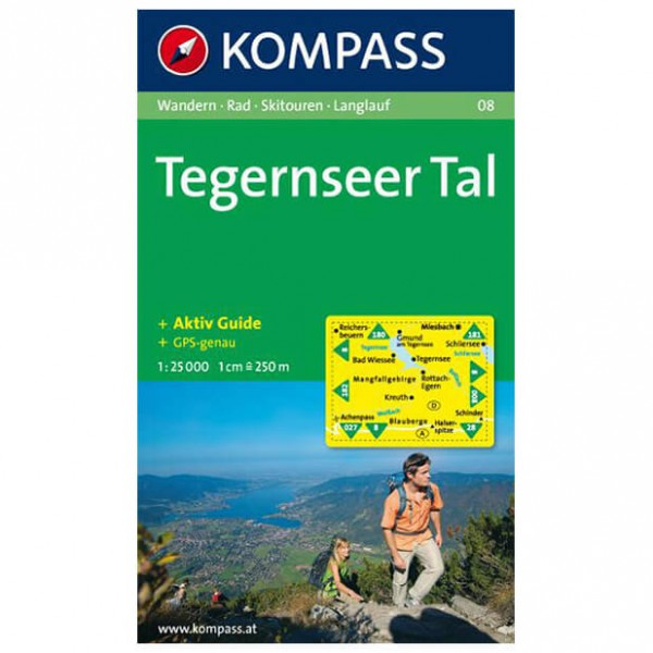 Kompass - Tegernseer Tal - Wanderkarte