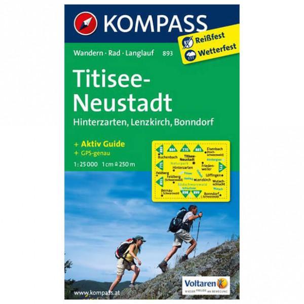 Kompass - Titisee - Wandelkaarten