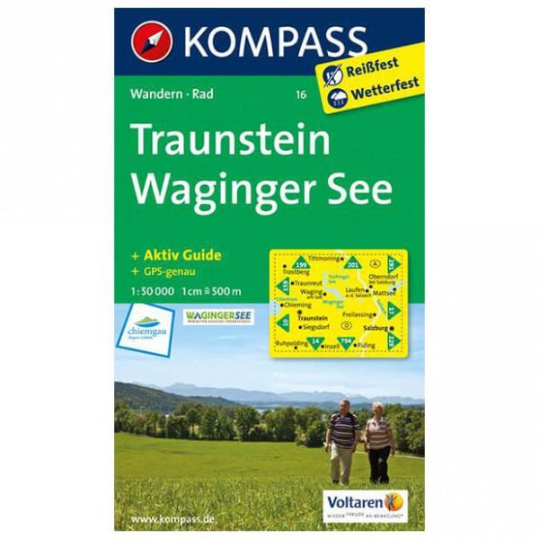 Kompass - Traunstein - Wandelkaart