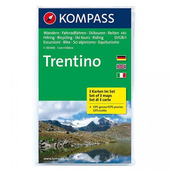 Kompass - Trentino - Cartes de randonnée