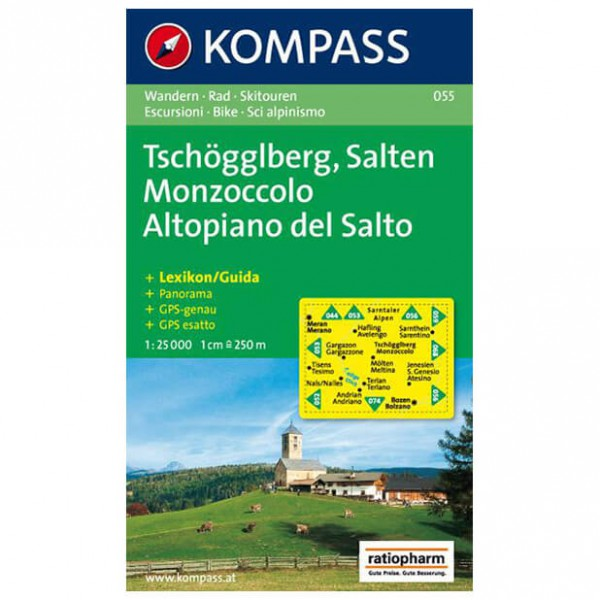 Kompass - Tschögglberg - Wanderkarte
