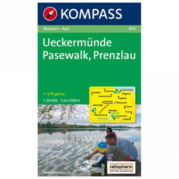 Kompass - Ueckermünde - Wandelkaarten