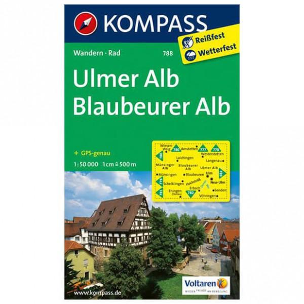 Kompass - Ulmer Alb - Vandringskartor