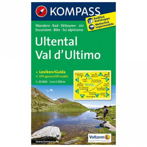 Kompass - Ultental - Vandrekort