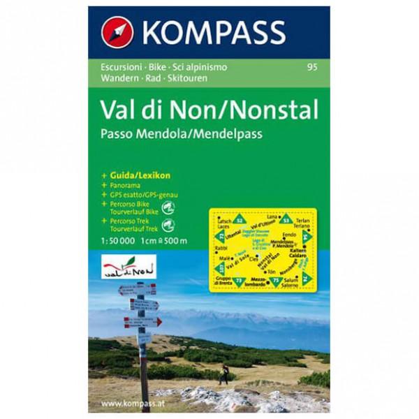 Kompass - Val di Non - Cartes de randonnée