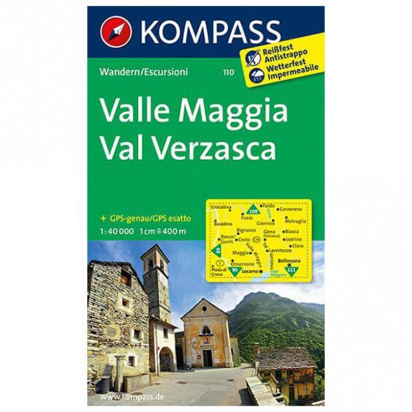 Kompass - Valle Maggia - Hiking Maps
