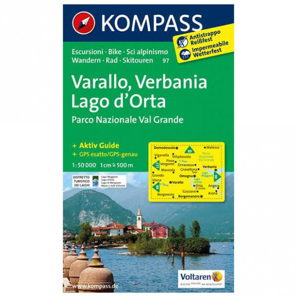 Kompass - Varallo - Hiking Maps