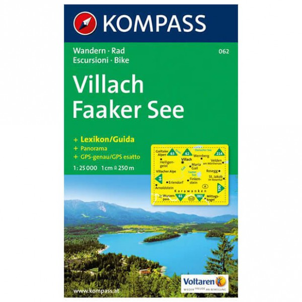 Kompass - Villach - Hiking Maps