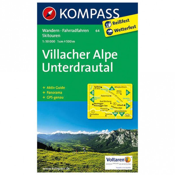 Kompass - Villacher Alpe - Hiking Maps