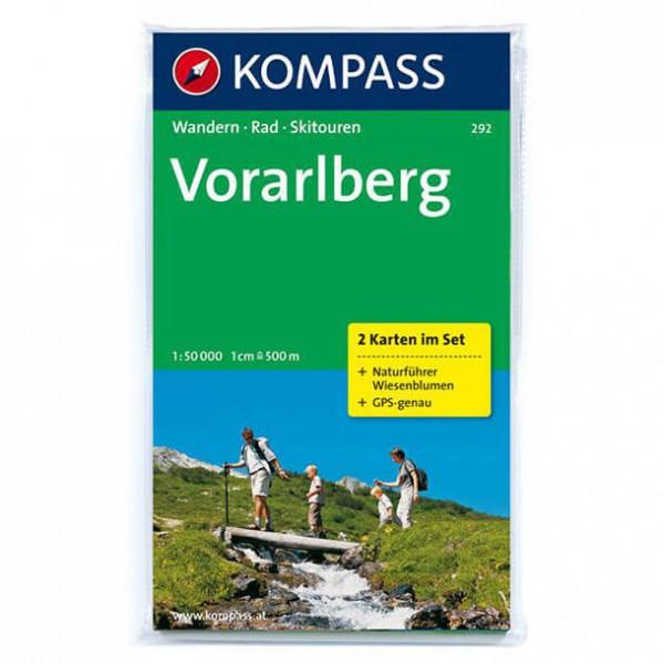 Kompass - Vorarlberg - Wanderkarte