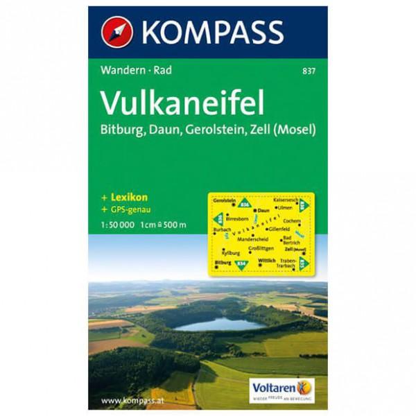 Kompass - Vulkaneifel - Vaelluskartat