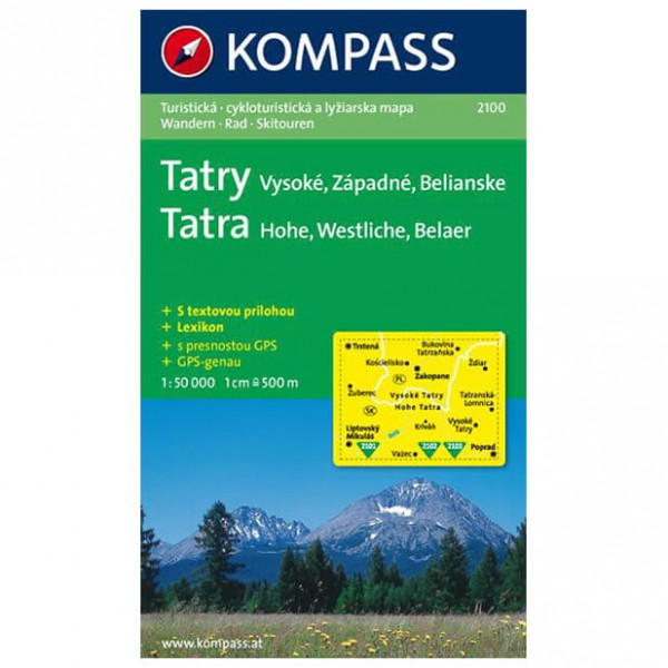 Kompass - Vysoke - Hiking Maps