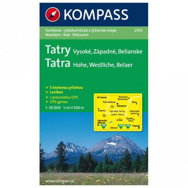 Kompass - Vysoke - Wanderkarte