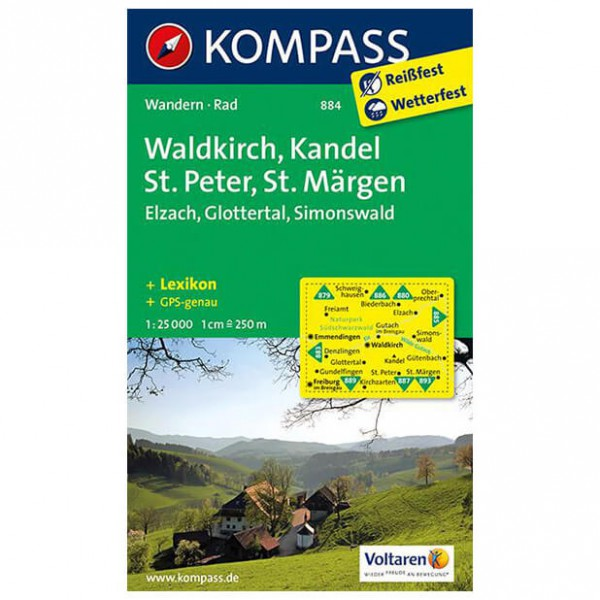 Kompass - Waldkirch - Hiking Maps