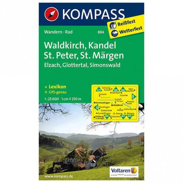 Kompass - Waldkirch - Wandelkaarten