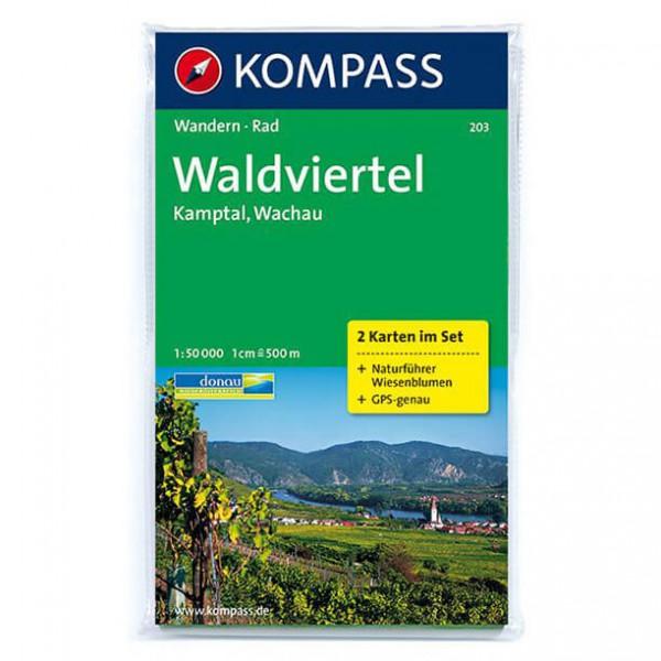 Kompass - Waldviertel - Wanderkarte