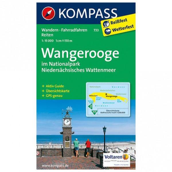 Kompass - Wangerooge im NIedersächsischen Wattenmeer