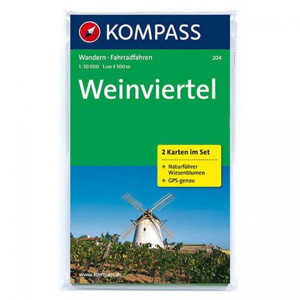 Kompass - Weinviertel - Wandelkaarten