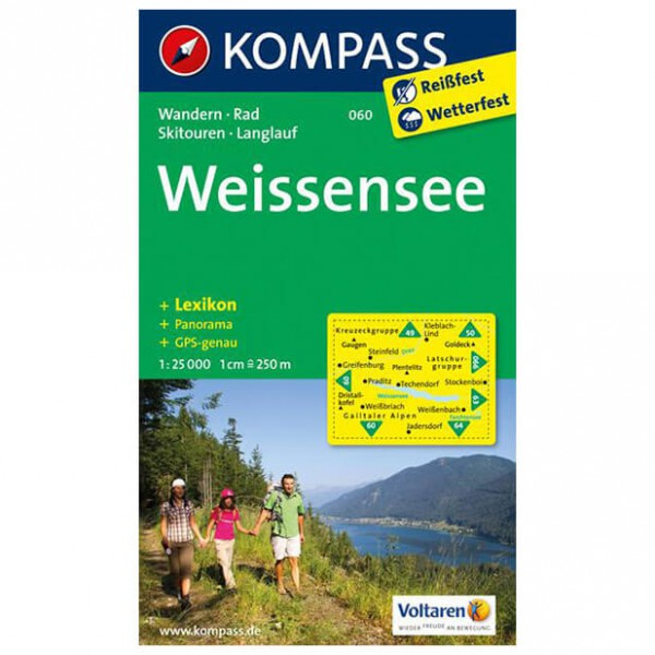 Kompass - Weißensee - Hiking Maps
