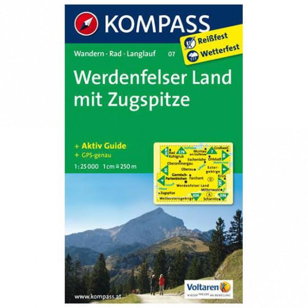 Kompass - Werdenfelser Land /Zugspitze - Wanderkarte