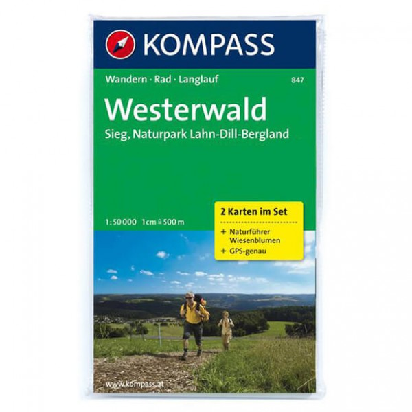 Kompass - Westerwald - Wanderkarte