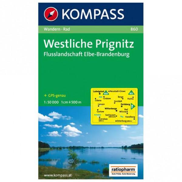 Kompass - Westliche Prignitz - Vandrekort