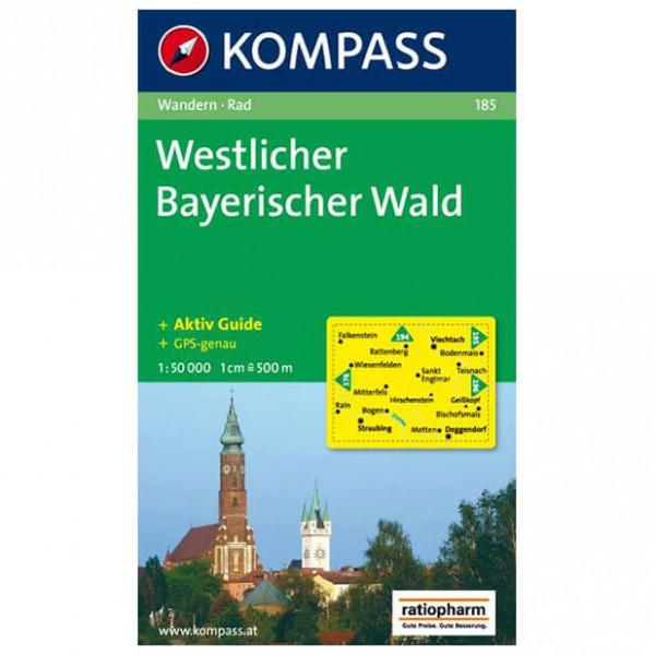 Kompass - Westlicher Bayerischer Wald - Vaelluskartat